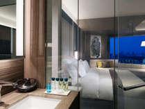 新しく誕生したクラブインターコンチネンタルルームは「金継ぎ」をデザインモチーフ贅沢な寛ぎの空間です。