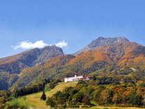 【紅葉シーズン】妙高高原の紅葉する木々を眺めながら【ケーキセット特典付】