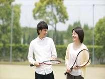 【グループ旅行・卒業旅行応援!】3名様以上のご宿泊でテニスコート利用料が半額!≪リゾートフレンチ≫