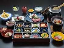 ≪伊賀創作和食ー芭蕉ー≫一例 メイン料理を伊賀牛にランクアップ