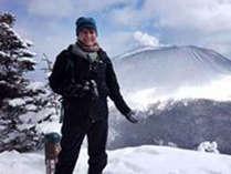 *冬の蛇骨岳の撮影!登山もお楽しみいただけます♪