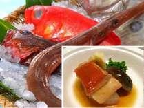 冬に脂がのって旬をむかえる地金目鯛を、自家製のタレで美味しく炊きました!