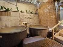 大浴場「白糸の美肌湯」の瓶風呂
