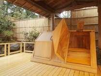 大浴場「安房八景の湯」の箱蒸し風呂