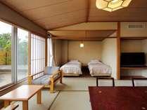 3階和洋室(10畳+TWベッド+広縁+内風呂)