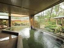 大浴場「安房八景の湯」の内湯,昼景