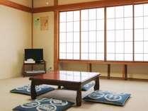 *【お部屋一例】ゆっくりお寛ぎいただける和室。人数によって振り分けさせていただきます。※指定不可