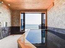 *【おまかせコテージ一例(陸奥)】窓を開ければ絶景露天風呂に早変わり♪