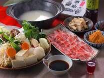【話題の発酵パワー】京都豚の酒粕しゃぶしゃぶプラン