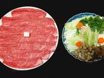 【選べる調理法】山形牛(肩ロース)すき焼orしゃぶしゃぶを満喫♪
