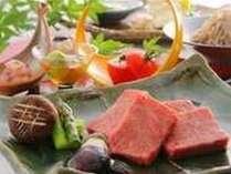 里山の旬と厳選素材が織りなす益子舘のお料理。