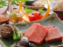 里山の旬と厳選素材が織りなす益子舘のお料理。素材本来の味を生かして丁寧に仕上げた里山会席料理!