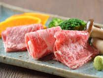 メイン料理は栃木県那須の地で育ったブランド牛「那須野ヶ原牛」。季節に合わせて調理方法が異なります。