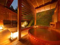【露天風呂付客室】露天風呂とテラスの付いたゆとりあるお部屋です。
