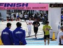 口熊野マラソン大会開催♪みなさんガンバッテー