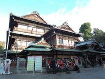 *【道後温泉本館】「日本書紀」にも登場する日本最古の温泉。