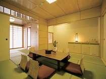 新館和室Cタイプ8畳+4.5畳(又は3畳)バス・トイレ付き