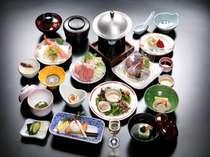 おすすめ会席料理「清流膳(約12品)」※お写真はイメージです。