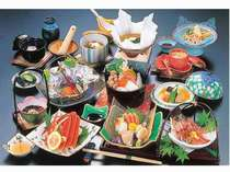 【DXふうりん・DXあさがお】カニだって味わえちゃう!★板場おまかせ料理★