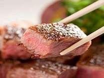 お肉が大好き! お箸ステーキ お刺身も良いけど、やっぱりお肉ですよね♪