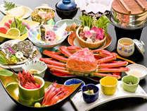 本ずわいがに・甘エビをはじめ、福井の味覚が盛りだくさん♪当日追加料理もご用意!