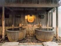 温泉を独り占め、五右衛門風呂に首までドップリ浸かれば「あぁ~」と唸ってしまう。