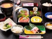 奇をてらったものはないけれど、体に優しい和朝食膳をご用意しています