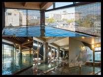 ●多彩なお風呂が魅力のあわらグランドホテルです(^^)