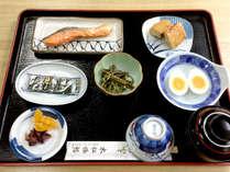 【朝食一例】健康的な和朝食をご用意致します。