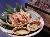 *【焼き蟹】美味しいカニは焼くとさらに甘みが増します♪