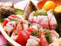 豪華舟盛り料理プランで伊豆のおいしい海の幸をたっぷり堪能!*