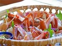 【カニフルコース】茹で蟹は2人で1杯★焼き蟹・かに刺し・カニ鍋…冬の味覚をフルコースで♪@19,440円