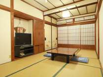 落ち着いた雰囲気の和室です。