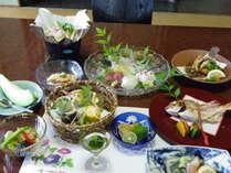 夏のお魚料理