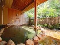 女性用の露天風呂