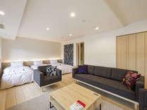 2018年リニューアルオープン☆マリメッコ空間の広々とした客室(62平米)