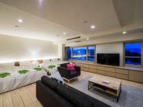 2018年リニューアルオープン☆マリメッコ空間の広々とした客室(69平米)