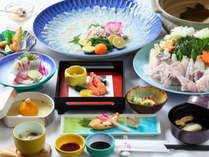 【天草冬の味覚☆とらふぐ会席】 てっちり鍋を囲んでぽっかぽか!