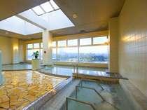 ゆったりお寛ぎいただけるよう広めの作りの大浴場です(露天風呂あり)ごゆっくり疲れを癒してください♪