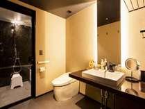 全室バスルームとトイレが分かれたセパレート仕様