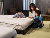 畳敷きのお部屋はお子様利用にも安心