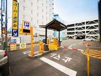 【八戸繁華街中心駐車場】ホテル真裏が提携駐車場でとても便利!(タイムズオリオン駐車場)