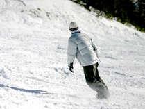 *冬到来!当館を拠点にスキー・スノボに出かけよう♪