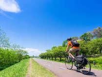 *サイクリストさん応援!!大切なロードバイクはお部屋までお持ち込みいただけます♪