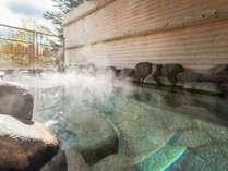 大浴場「もむにの湯」■露天岩風呂