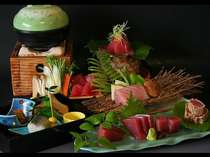 マグロづくしプラン料理イメージ
