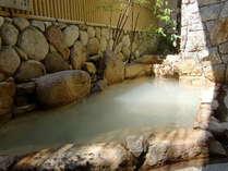 泉質バツグンの露天風呂