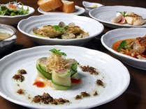 ■創作洋食コース一例■旬の食材や手作りの無農薬野菜をふんだんに使用。シェフが腕をふるいます!