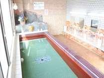 男性浴場 源泉100% 温泉