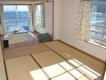 3階10畳和室(冬季)
